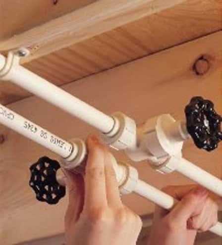 Ремонт ванной комнаты - замена труб