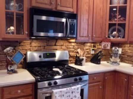 """Оформление кухонного """"фартука"""" - какой материал выбрать"""