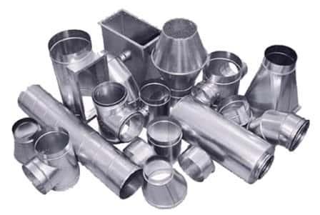 Использование различных материалов при изготовлении воздуховодов