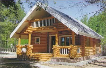 Преимущества возведения домов из оцилиндрованного бревна