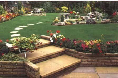 Ландшафтный дизайн садового участка - источник хорошего настроения