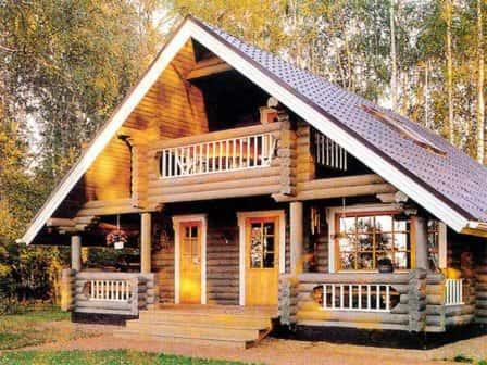 Особенности деревянного дома