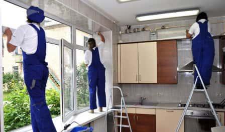 Уборка квартиры после ремонта - услуги клининговой компании