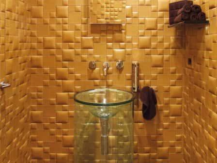 Кожаные стеновые панели - элегантность и стиль