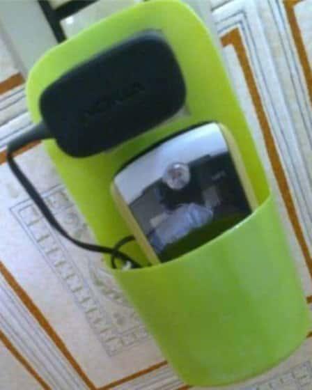Органайзер для зарядки сотового телефона - мастер-класс