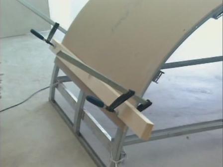 Сложный раскрой гипсокартона -  как получить криволинейную поверхность