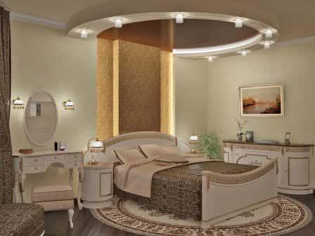 Освещение спальни играет особую роль в создании уюта