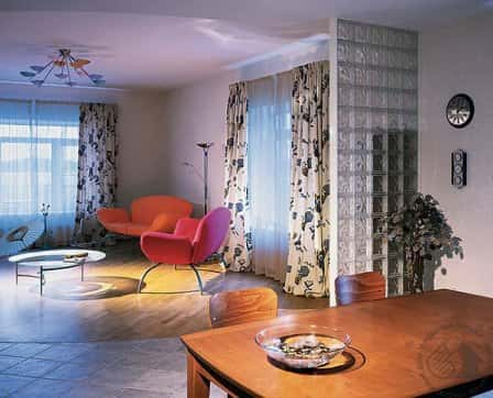 Функциональные зоны в гостиной комнате