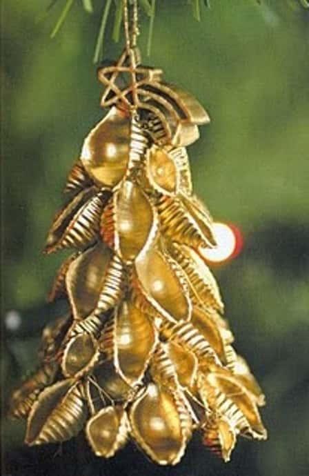 Новогодние поделки из макарон