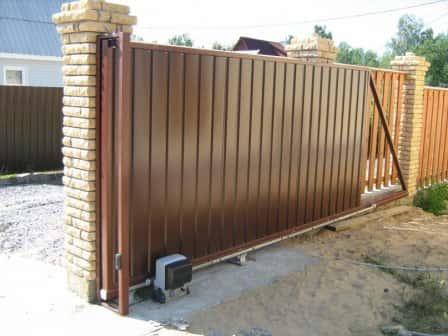 Выбираем дачные ворота