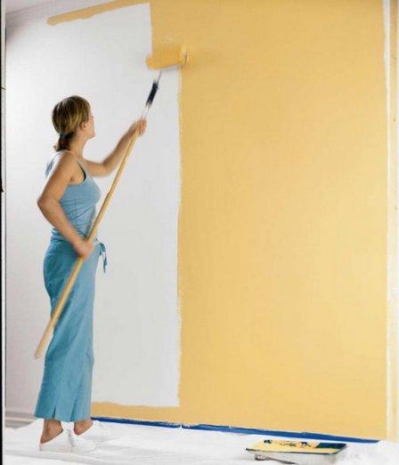 Окрашивание стен