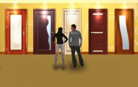 Как определиться с цветом межкомнатных дверей?
