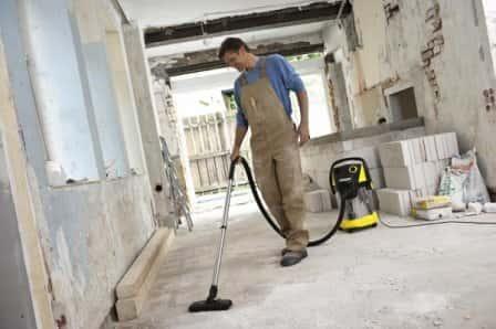 Хозяйственный пылесос наведет порядок в доме, мастерской и гараже