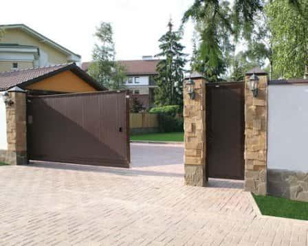 Автоматические раздвижные и откатные ворота