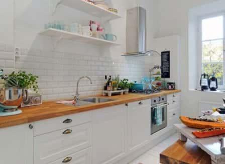 Дизайн кухни в скандинавском стиле и его особенности