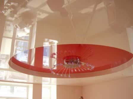Натяжные потолки и их разновидности