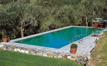 Технология строительства бассейна с цементными стенками