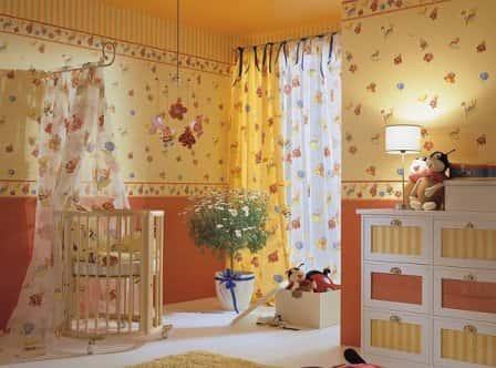 Как выбрать обои для детской комнаты?