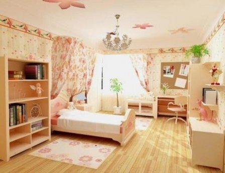 Детская комната для девочки: как оформить?