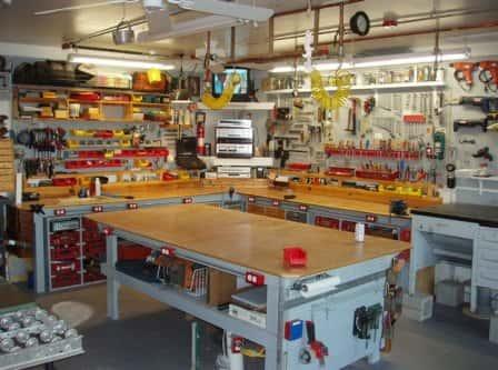Хранение инструмента в гараже