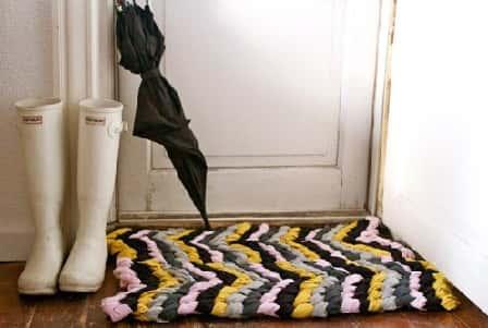 Как сделать коврик своими руками - мастер-класс