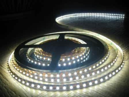 Подключение и монтаж светодиодной ленты своими руками