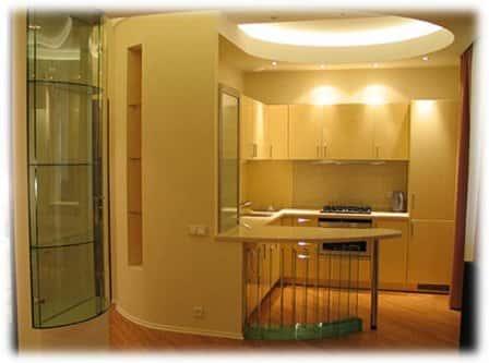 Перепланировка кухни и санузла