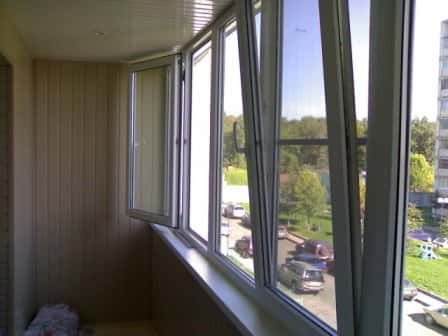 Остекление балкона – услуга от компании «Люкс Окна», позволяющая увеличить  ...