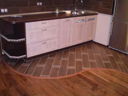 Ламинат на кухню: выбираем и укладываем