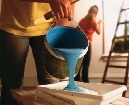 Моющаяся краска для стен