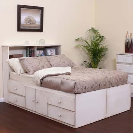 Достоинства кроватей с ящиками для вещей