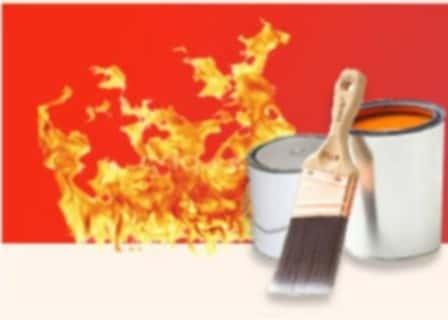 Сфера применения огнезащитной краски