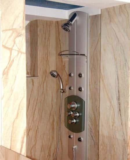 Дизайн ванной комнаты в хрущевке - отделка стен + фото