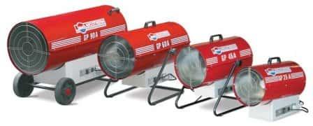 Газовые тепловые пушки