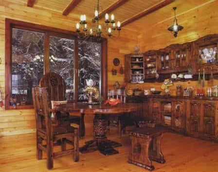Мебель из массива под старину – залог неповторимого интерьера