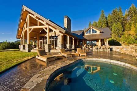 Преимущества деревянного дома из сруба