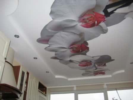 Натяжной потолок - разнообразие дизайна
