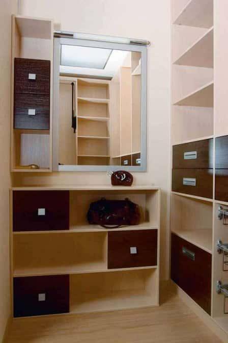 Преимущества гардеробной комнаты выполненной на заказ