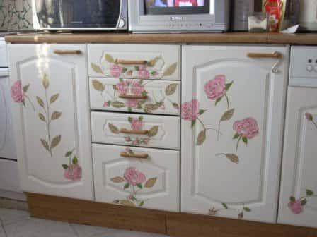 Реставрация кухонного гарнитура своими руками