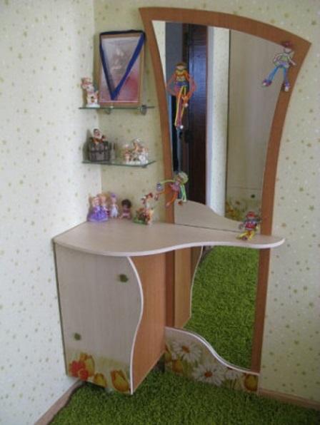 Выбираем зеркало для детской комнаты