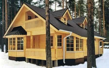 Качественное строительство деревянных домов и его популярность