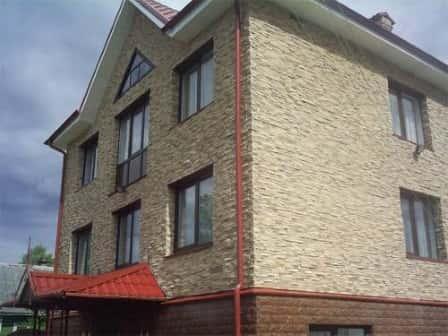 Применение современного материала – искусственного камня для дизайна фасадо ...