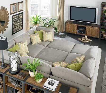 Дизайн уютной гостиной