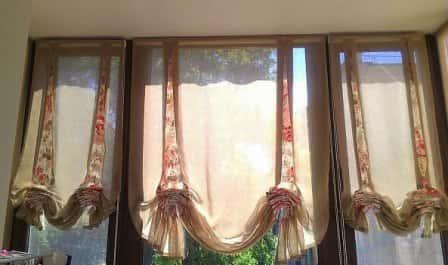 Лондонские шторы: стиль проверенный временем