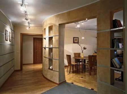 Перепланировка типовой квартиры