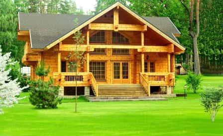 Строительство деревянного дома с компанией «Финдом СПб»