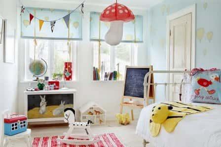 Работаем над дизайном детской комнаты