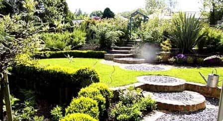 Садовый дизайн и его стили