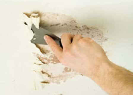 Подготовка основания стен для нанесения штукатурки