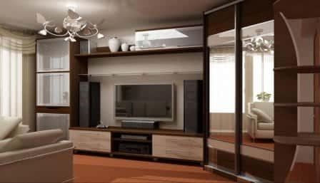Выбор мебели для интерьера гостиной